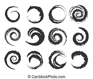 shapes, круг, вектор, гранж
