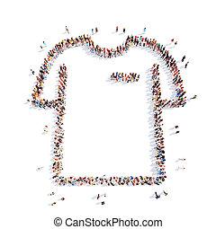 shirt., форма, люди