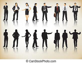 silhouettes, бизнес