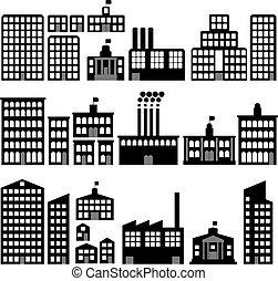 silhouettes, здание