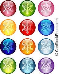 snowflakes, значок