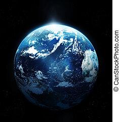 space-original, солнце, образ, планета, nasa, поднимающийся, земля