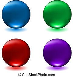 spheres, глянцевый