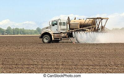 spraying, сельхозугодий