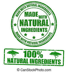 stamps, сделал, натуральный, ingredients