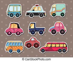 stickers, автомобиль