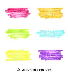 stripes, задавать, ручной работы, 1, маркер