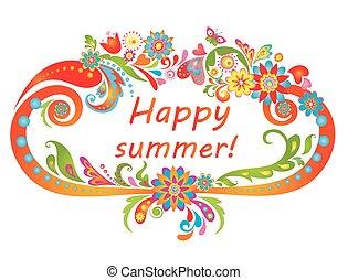 summer!, счастливый