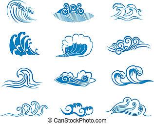 symbols, задавать, волна