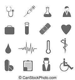 symbols, медицинская, здоровье, забота