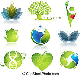symbols, health-care, экология