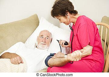 takes, здоровье, давление, кровь, главная, медсестра