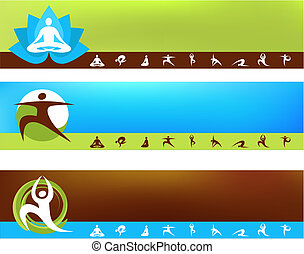 templates, задний план, йога