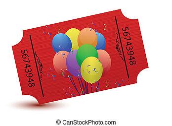 tickets, вечеринка, особый