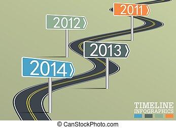 timeline, infographic, шаблон