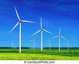 turbines, ветер