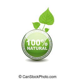 web, процент, icon., от себя, экология, кнопка, 100