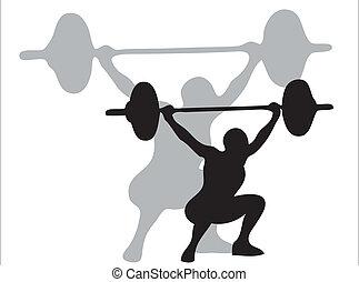 weights, lifting
