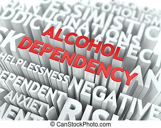 wordcloud, dependency., concept., алкоголь