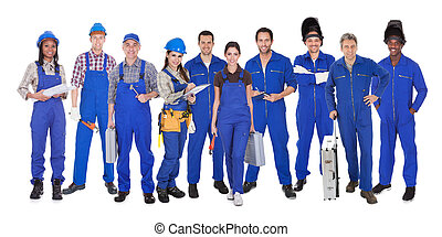 workers, промышленные, группа