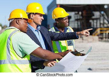 workers, строительство, архитектор