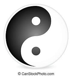 yin-yang, 2, символ